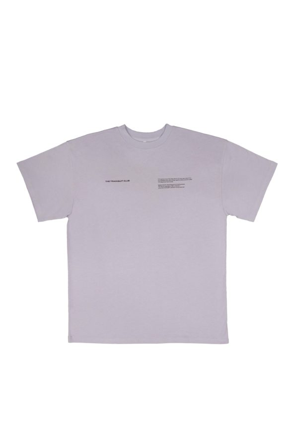 TTC THE TRACKSUIT CLUB Basic Line T-Shirt Description (orchid) organic cotton made in europe
