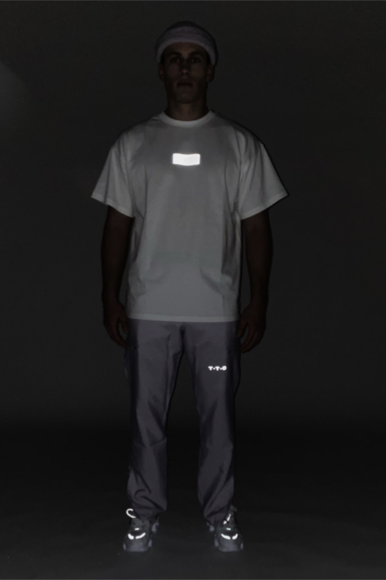 TTC THE TRACKSUIT CLUB Basic Line T-Shirt No Lights (white) organic cotton made in europe