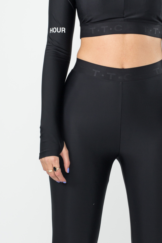 TTC | THE TRACKSUIT CLUB Sustainable WMS Leggings (black) 100% recycled PES