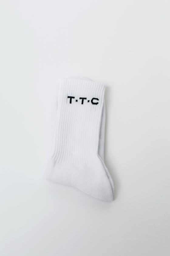 TTC THE TRACKSUIT CLUB Basic Line Socks (orchid, black, white) organic cotton made in Germany