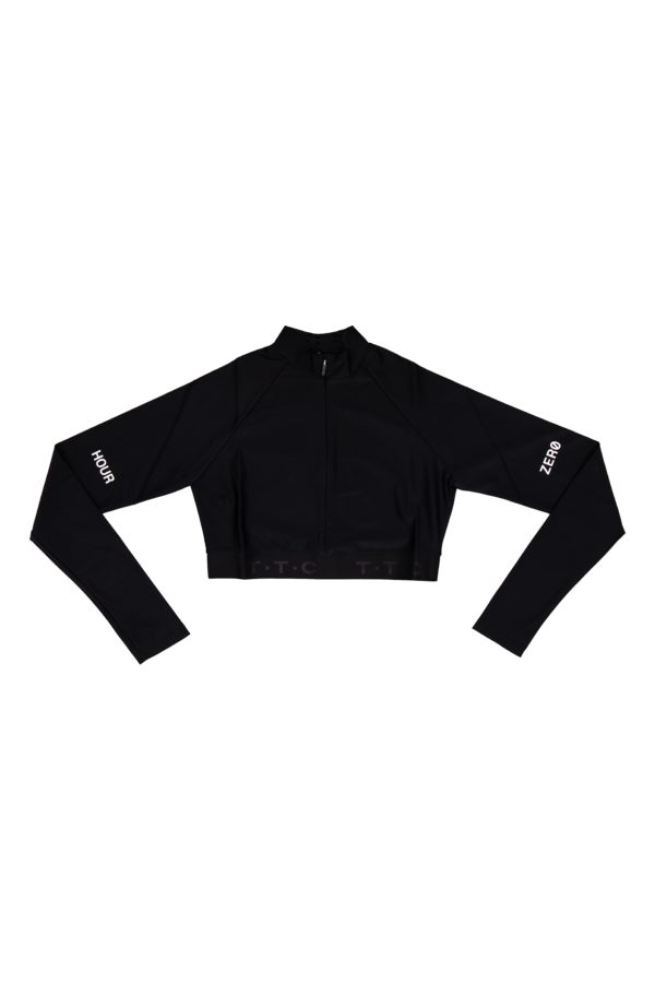 TTC | THE TRACKSUIT CLUB Sustainable WMS Tight Top (black)